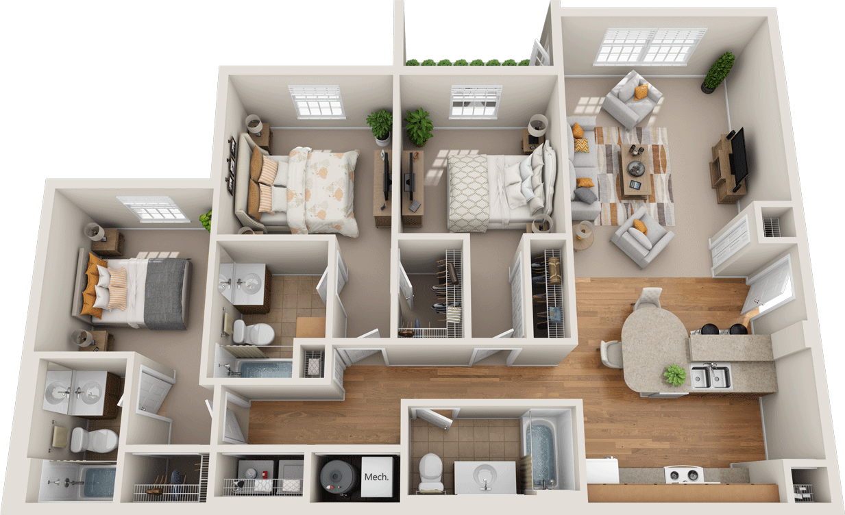 Windsor West Lexington Floorplan