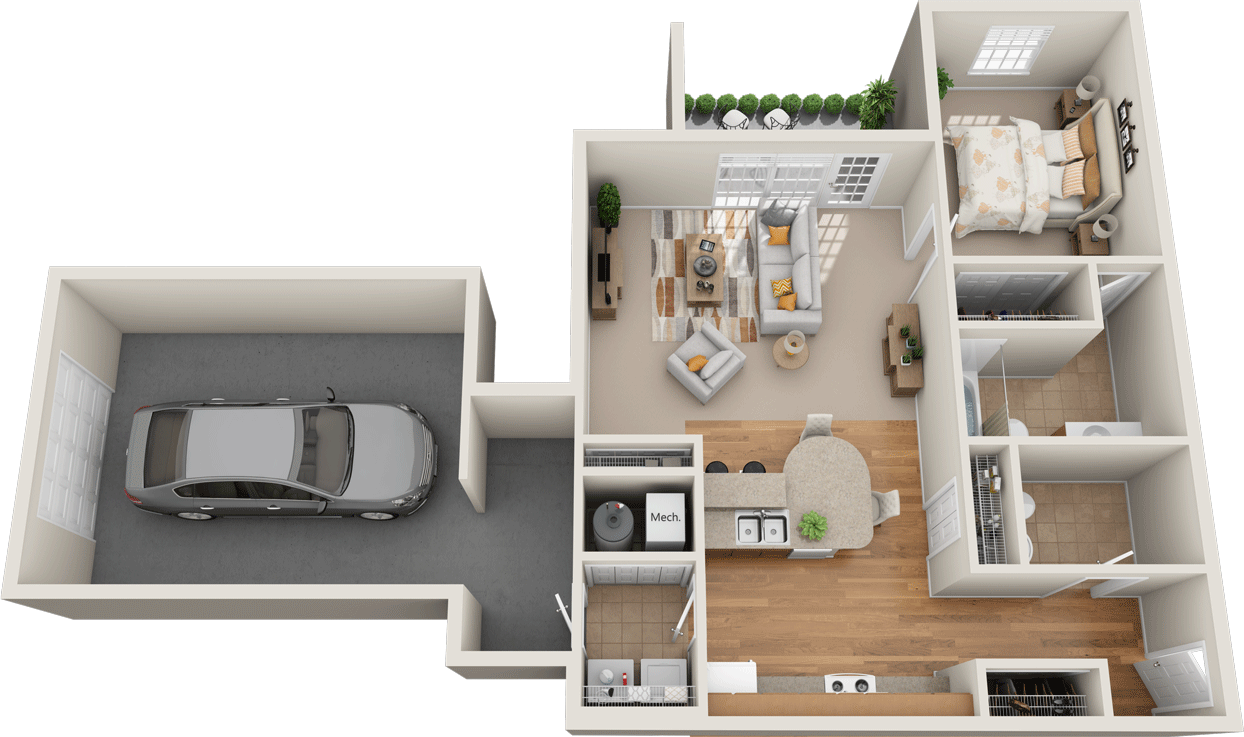 Windsor West Oxford Floorplan