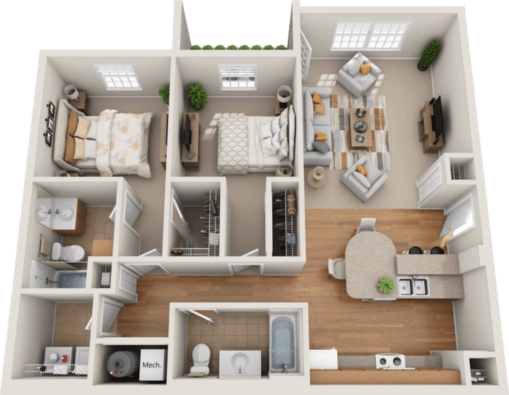 Windsor West Richmond Floorplan