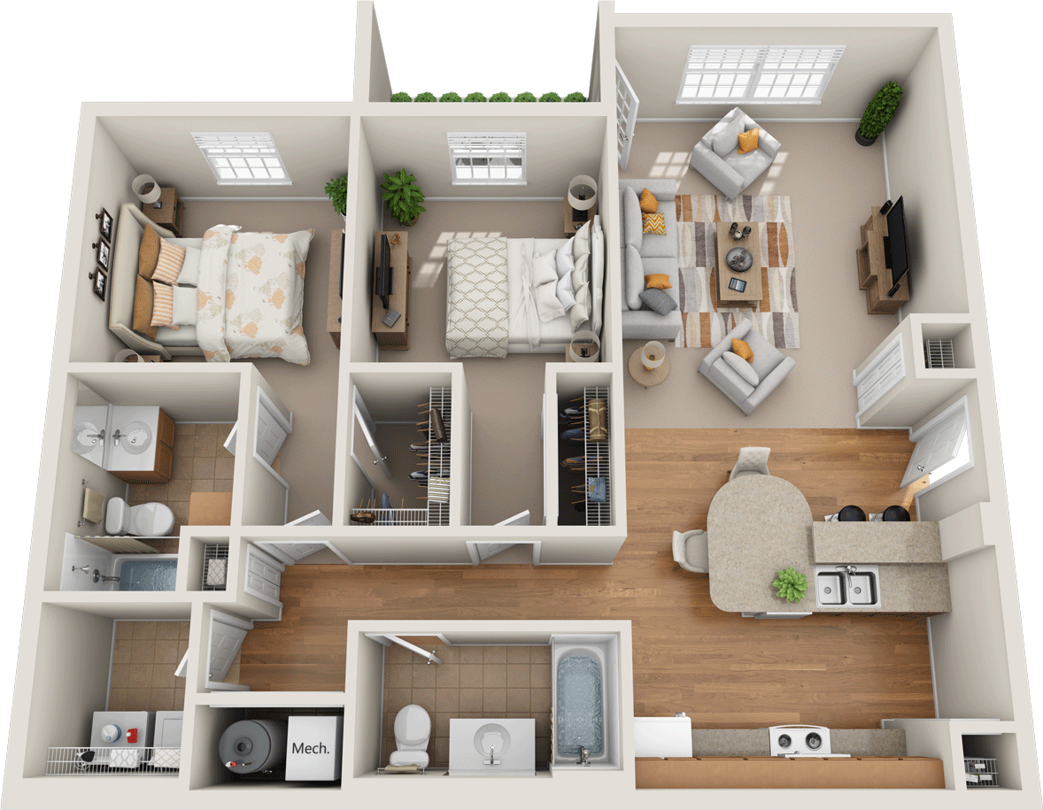 Windsor West Richmond Floorplan