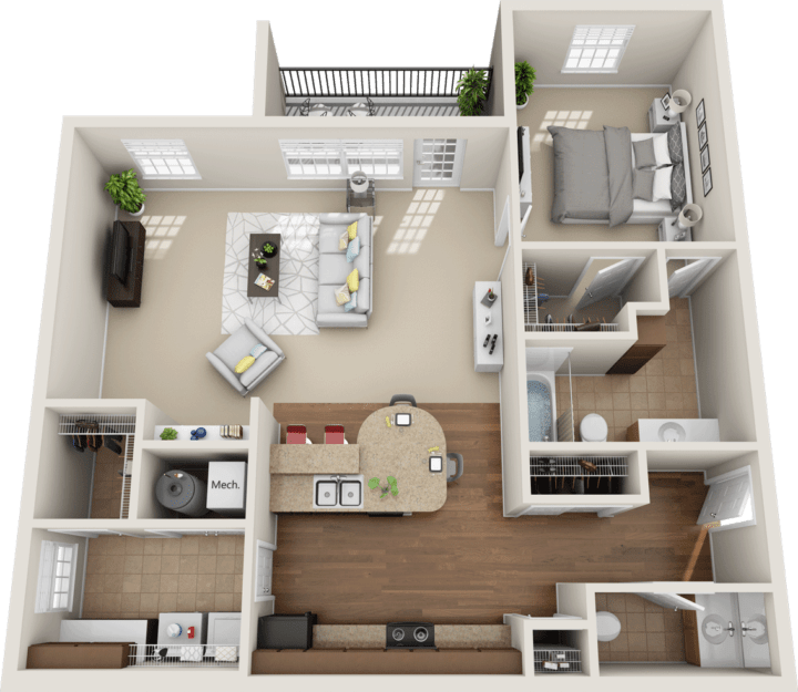Windsor West Bristol Floorplan