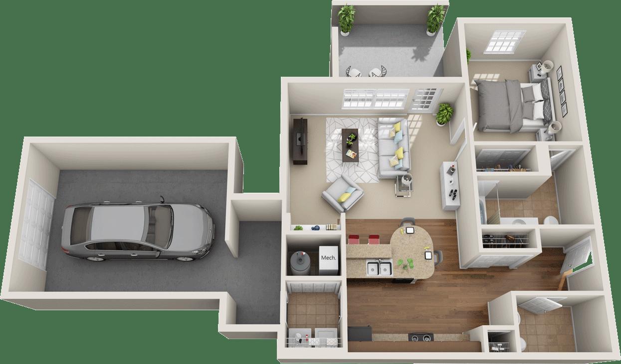 Windsor West Camden Floorplan
