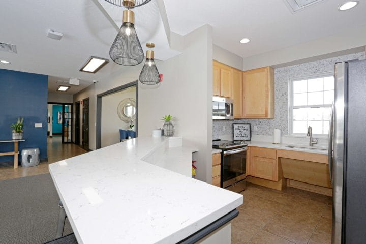Beautifully Appointed Clubhouse With Kitchen.